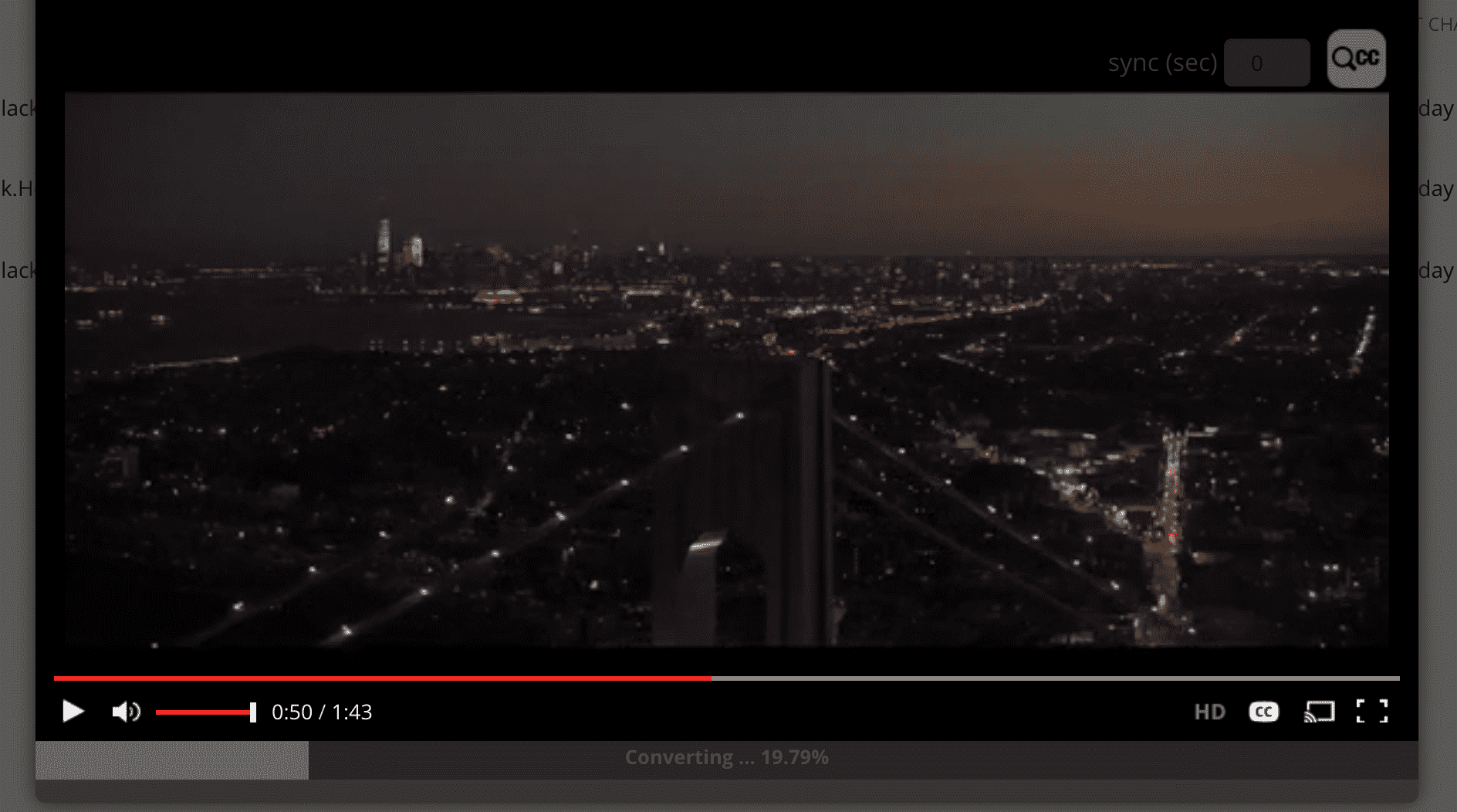 Seedr Video Player