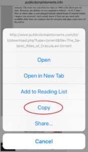 Public Domain Torrents Copy